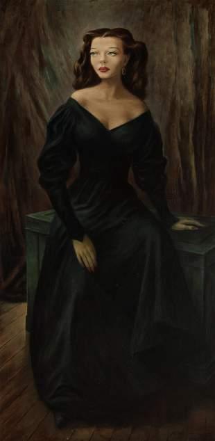 Fletcher Martin American, 1904-1979 Portrait of Sylvia