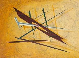David A. Parish American, 20th Century Wood Nail and