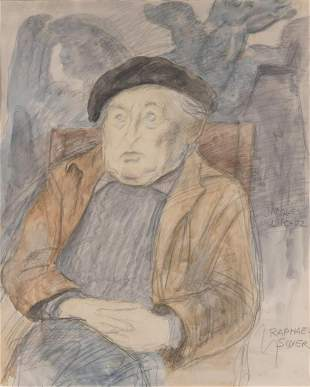 Raphael Soyer American, 1899-1987 Portrait of Jacques