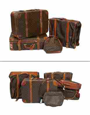 Group of Louis Vuitton Soft Luggage