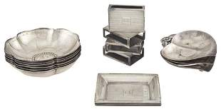 Group of Tiffany & Co. Sterling Silver Table Articles