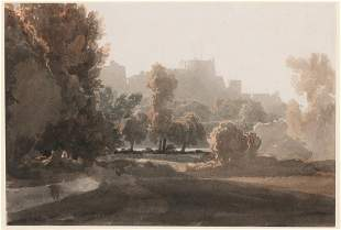 Attributed to William Havell Windsor Park and Castle