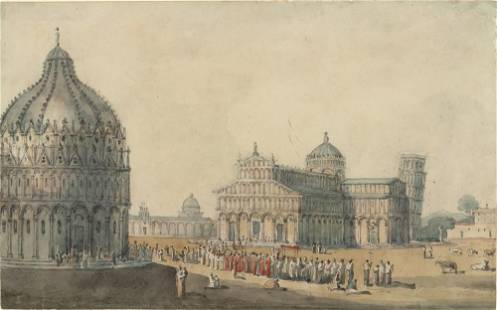 George Heriot English, 1766-1844 Procession in the City