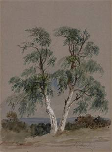 James Duffield Harding English, 1797-1863 Study of a