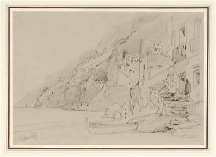 William Callow English, 1812-1908 Amalfi