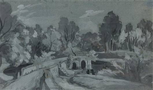 William Turner of Oxford English, 1789-1862 Wooded