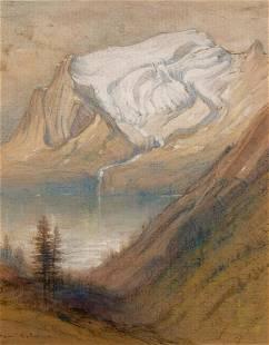 Samuel Colman American, 1832-1920 Emerald Peak and