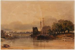 Thomas Miles Richardson English, 1784-1848 Newcastle on