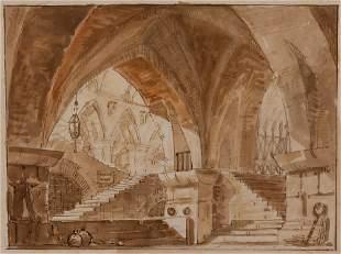 Italian School 18th-19th Century Prison