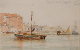 English School 19th Century Gosport Beach