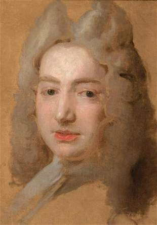 Attributed to Sir James Thornhill Portrait of a