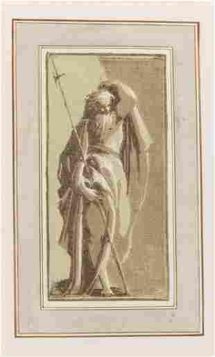 Antonio Maria Zanetti after Parmigianino SAINT MATTHEW