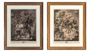 Richard Earlom After Jan Van Huysum A FLOWER PIECE; A