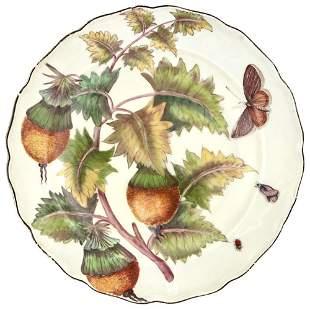 Chelsea Porcelain 'Hans Sloane' Botanical Plate