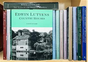 [BOOKS] Group of books on English Country Houses.
