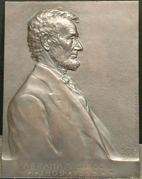 2007: Victor David Brenner American, 1871-1924 ABRAHAM