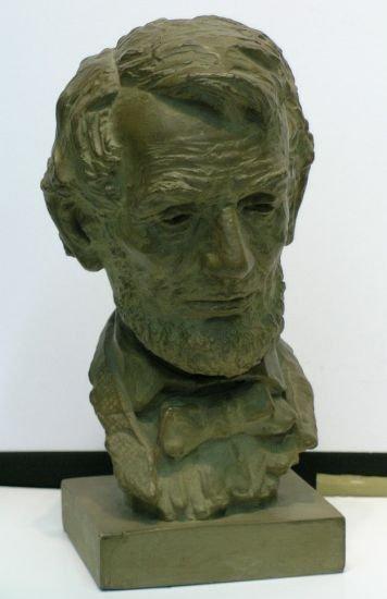 2010: Jo Davidson American, 1883-1952 BUST OF ABRAHAM L
