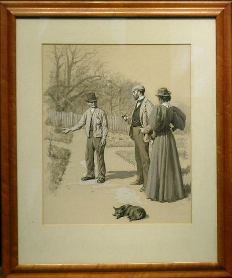 2011: Arthur Burdett Frost American, 1851-1928 THE HARD