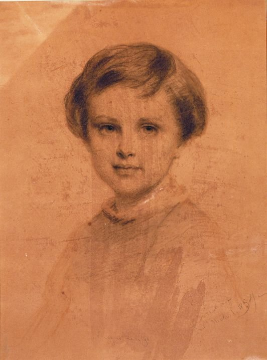2015: Eastman Johnson American, 1824-1906 PORTRAIT OF E