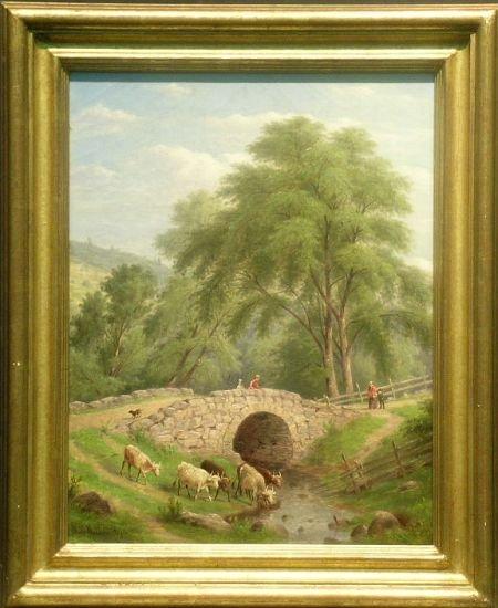 2019: William Rickarby Miller American,1818-1893 BRIDGE