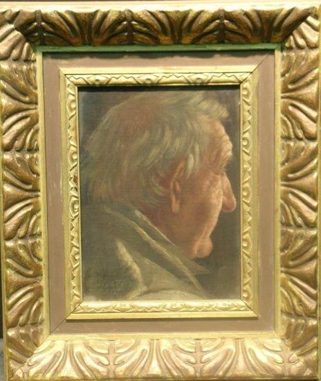 2022: Enoch Wood Perry American, 1831-1915 HEAD OF A MA