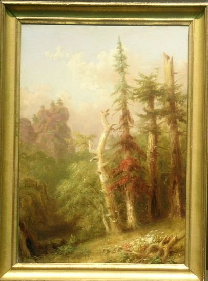 2023: Russell Smith American, 1812-1896 IN THE NOTCH, N