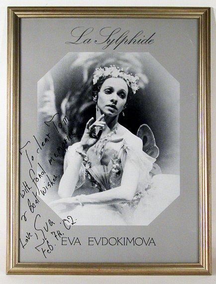 3010: EVDOKIMOVA, EVA Portrait poster of La Sylphide