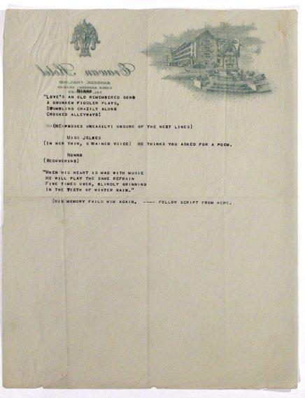 3024: WILLIAMS, TENNESSEE Typescript
