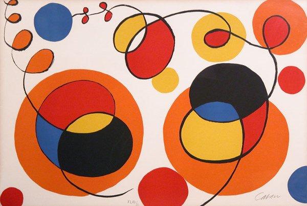 3106: Alexander Calder [CIRCLES AND SPIRALS]  Color lit