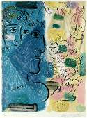 Marc Chagall EXHIBITION POSTER Color lithograph