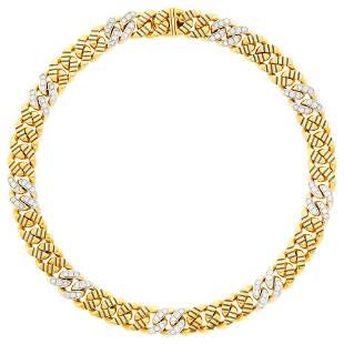 Faraone Mennella Two-Color Gold, Diamond and Black