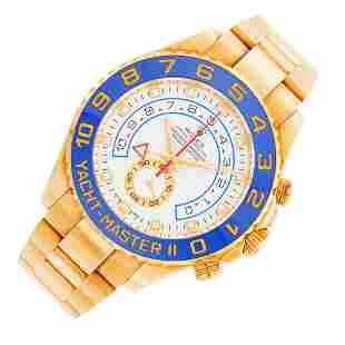 Rolex Gentleman's Gold 'Yacht-Master II' Wristwatch,