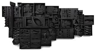 Louise Nevelson American, 1899-1988 Wall Zag