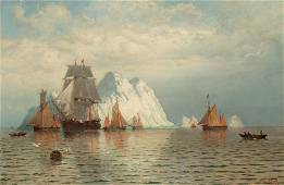 William Bradford American, 1823-1892 Whaling Ship and