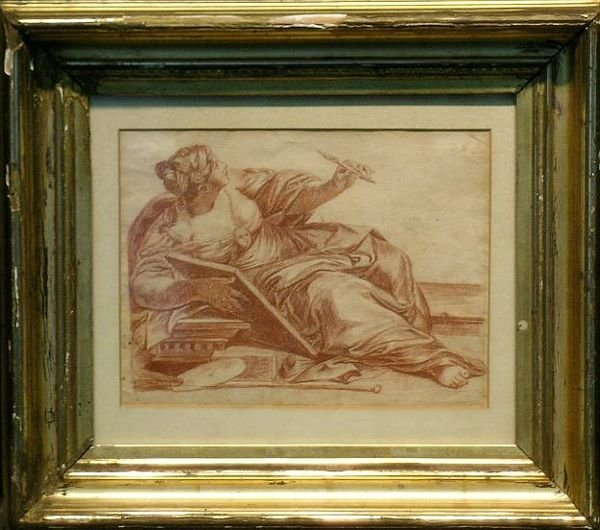 4004: Manner of Guido Reni ALLEGORY OF THE ARTS