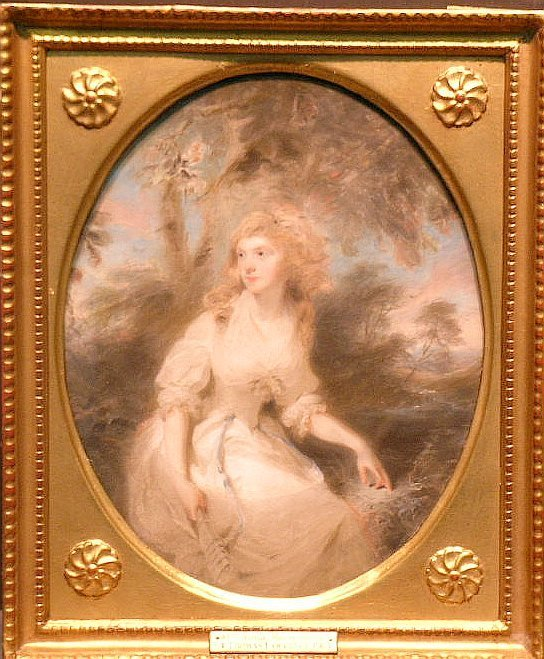 4013: Attributed to Sir Thomas Lawrence PORTRAIT OF WOM