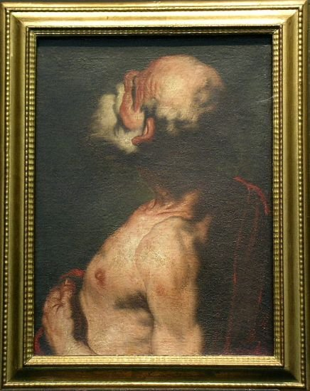 4023: Attributed to Luca Giordano SAINT JEROME