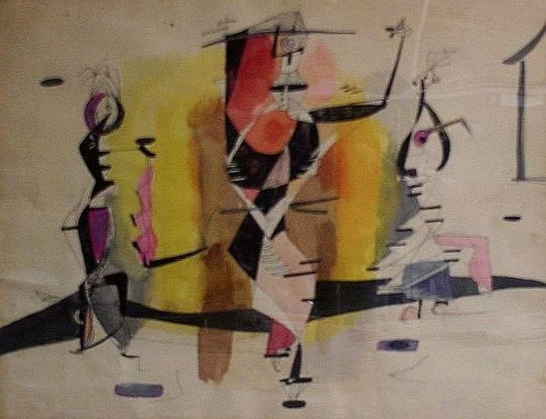 5: Mariano Rodriguez Cuban, 1912-1990 ABSTRACT COMPOSIT