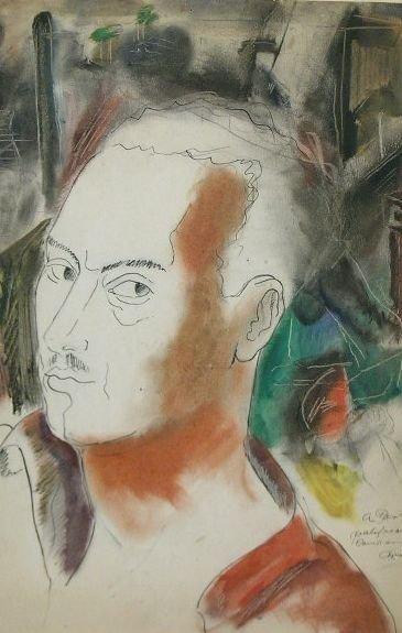 10: Mariano Rodriguez Cuban, 1912-1990 SELF PORTRAIT