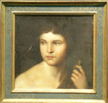 1008: Italian School 18th/19th Century HEAD OF DAVID