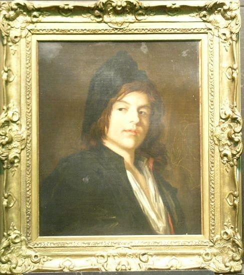 1010: Dutch School 19th Century PORTRAIT OF AN ARTIST,