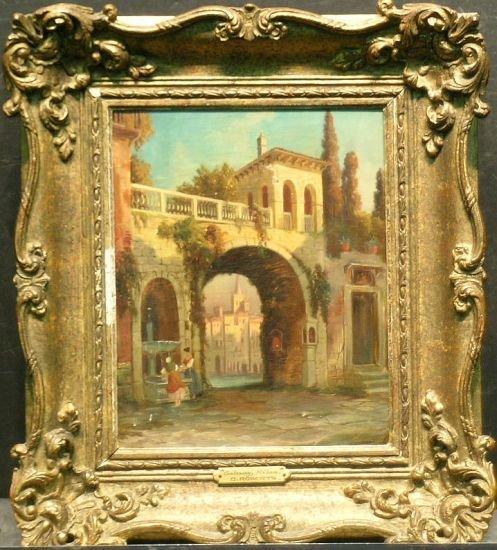 1019: Manner of David Roberts GATEWAY, MILAN