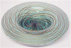 1458: Venice & Murano Co. Blown Glass Bowl