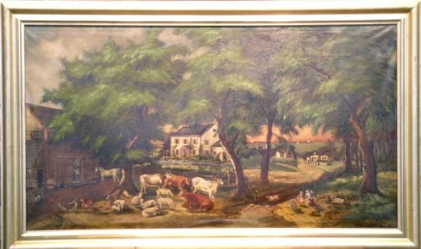 2023: Manner of Currier & Ives THE FARMER'S HOME