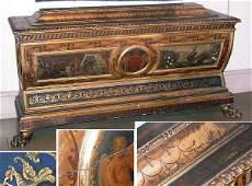 2211: Italian Painted Cassone
