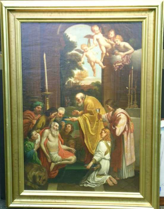 1006: After Domenichino COMMUNION OF SAINT JEROME