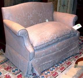 1291: Beige Upholstered Loveseat