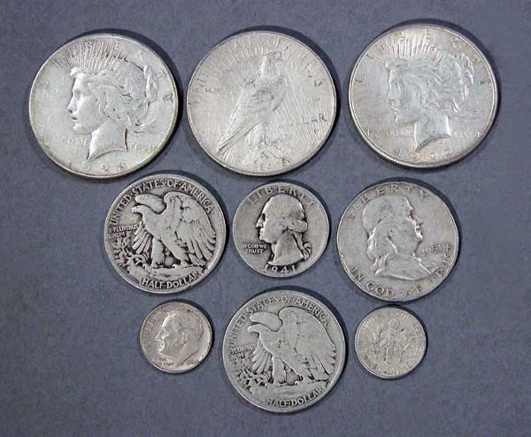 7: Assorted U.S. Coins
