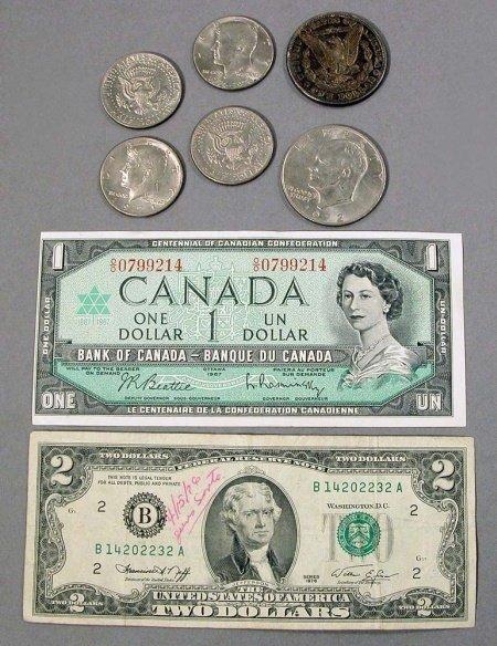 18: Assorted Paper Money