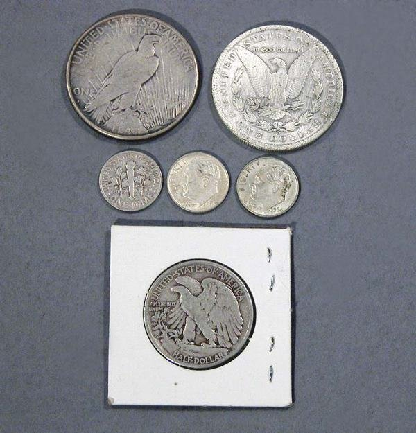 24: Group of U.S. Coins